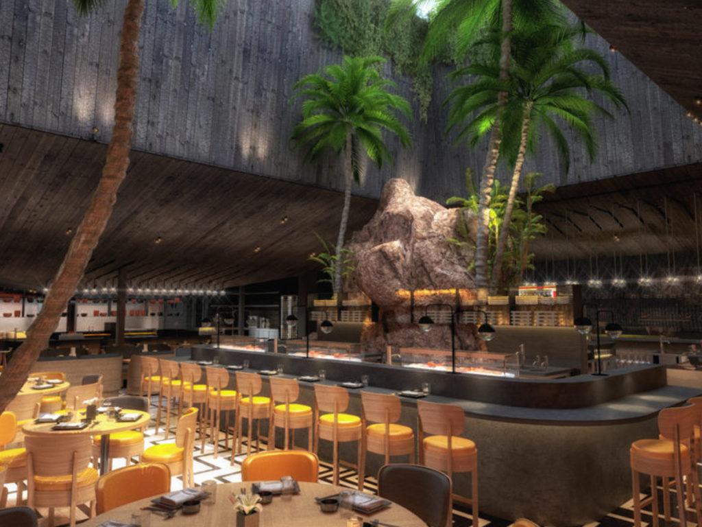 Chotto Matte restaurant projet interieur