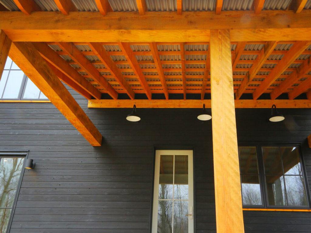 Farmhouse Yakisugi projet veranda